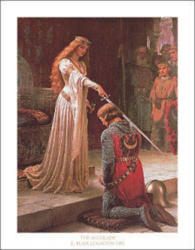 E. Blair Leighton (The Accolade) Art Poster Print Masterprint Art Poster Print by Edmund Blair Leighton, 11x14
