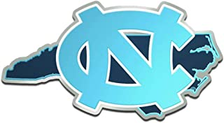 WinCraft UNC University of North Carolina Premium Auto Emblem Decal, Hard Acrylic, 4.2x2.2 inches
