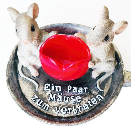 art decor Geldgeschenk, Spardose EIN Paar Mäuse zum verbraten - 2