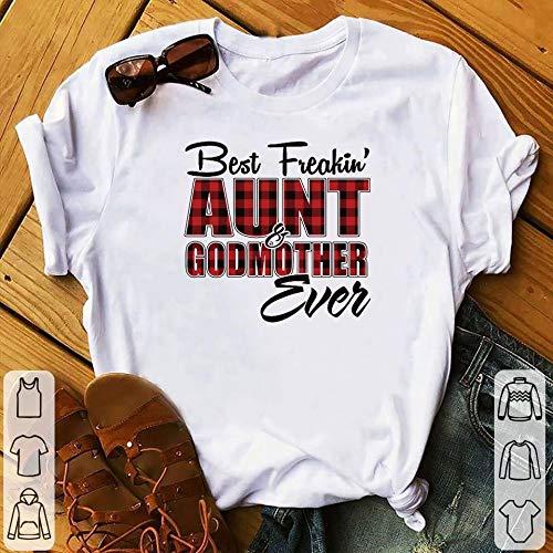 Kikitee Best freakin Aunt & Godmother ever shirt Unisex Tees, Hoodie, Sweatshirt For Men Women.
