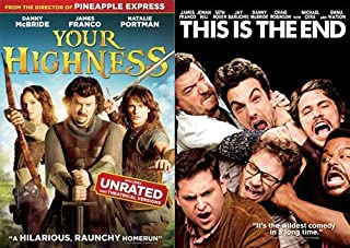 Let Him Loose- Danny McBride Unhinged And Totally Raw: Your Highness (UNRATED) & This is The End 2-Film DVD Feature Bundle