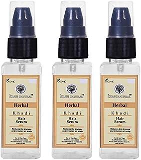 Khadi Natural Hair Serum SLS and Paraben Free 50ml (Pack Of 3)