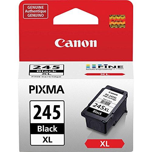 Canon PG-245 XL High Capacity Black Ink Cartridge (8278B001) + Canon CL-246 Color Ink Cartridge (8281B001) New York