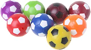 WE-POLUJ 2pcs 36mm Table Soccer Ball Fussball Indoor Game Foosball Football Machine Parts