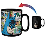 Batman – Papercut – DC Comics – Morphing Mugs Heat Sensitive Clue Mug – Full image revealed when HOT liquid is added - 16oz Large Drinkware