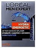 L'Oreal Men Expert Hydra Energetic After-Shave Splash 100ml/ Für Den Mann/Rasierwasser