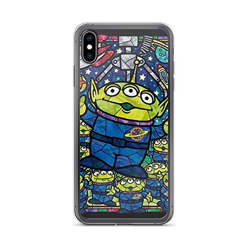 TEEMT Compatible with iPhone Xs Max Case Aliens Fanart Toys Friends Story American Sci-fi Animated Movie Pure Clear Phone Cases Cover