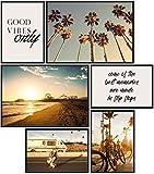 Papierschmiede® Mood-Poster Set Los Angeles | 6 Bilder als