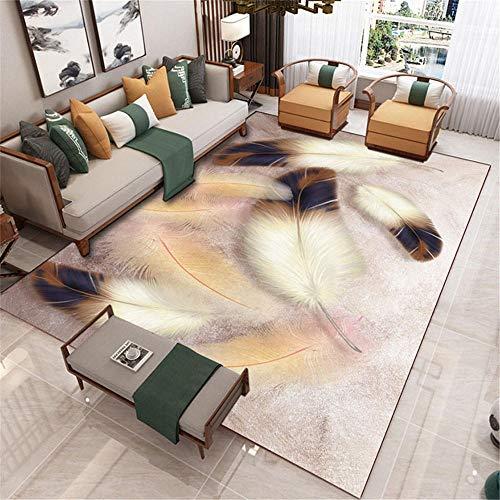 Kunsen schöne Teppich Rosa moderner Teppich Wohnzimmer Dekoration Anti-Skating-Schlafzimmer Bodenmatte balkonteppich Outdoor jugendzimmer möbel 80x160cm 2ft 7.5' X5ft 3'