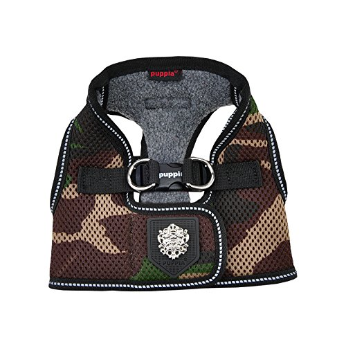 Puppia Thermal Soft Vest Harness, Large, Camo