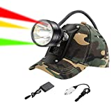 GearOZ Coon Hunting Lights Headlamp for Coyotes Hog Predators, Rechargeable & Waterproof, 6 Lighting...
