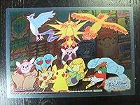 非売品 ポケモンセンター オーサカDX オープン記念 おいかぜキャンペーン オリジナルクリアカード 個数2 ピカチュウ サンダー フリーザー