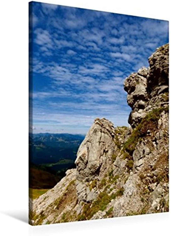 Calvendo Premium Textil-Leinwand 60 cm x 90 cm hoch, Kanzelwand   Wandbild, Bild auf Keilrahmen, Fertigbild auf echter Leinwand, Leinwanddruck Natur Natur