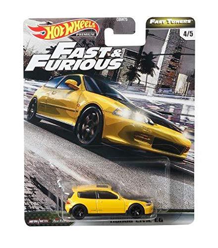 Hot Wheels Fast & Furious Fast Tuners Honda Civic EG