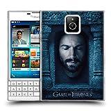 Head Case Designs Oficial HBO Game of Thrones Daario Naharis Caras 2 Carcasa de Gel de Silicona Compatible con Blackberry Passport
