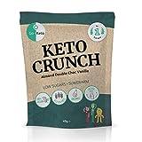 Go-Keto Crunch Almond Double Choc Vanilla (BIO) | 10 bolsas de 40 g | con almendras, semillas de calabaza, aceite de coco y cacao | Snack keto sin azúcar | Paleo, vegano, bajo en carbohidratos