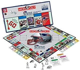 USAopoly New England Patriots NFL Team Collector's Edition Monopoly
