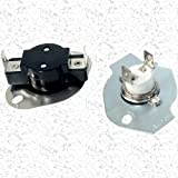 3387812 - Magic Chef Aftermarket Replacement Dryer Thermostat Thermal Fuse Limit Switch Kit