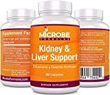 Microbe Formulas: Kidney & Liver Detox - Drainage and Immune System Support - 90 Capsules - Supports Healthy Kidney and Liver Function - Provides Detox Support - Helps Improve Bioflow
