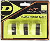 Dunlop Revolution NT Tacky - Set da 3 Nastri overgrip, Giallo, Misura Unica...