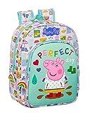 Safta 612172185 Mochila Escolar Infantil Peppa Pig, 260x110x340mm, multicolor, M