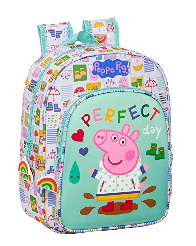 Safta 612172185 Peppa Pig Children's School Backpack, 260 x 110 x 340 mm