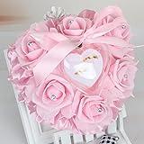 ZIRAN Romantic Rose Favores de la Boda en Forma de corazón