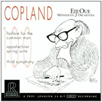 Copland: Fanfare for the Common Man, Appalachian Spring Suite, Third Symphony (2000-05-03)