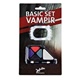 papapanda Vampir Schmink Set Make Up Vampirgebiss Halloween (Vampir Schminkset)