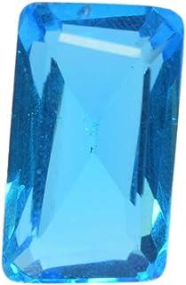 Blue Topaz 16.80 Ct Emerald Cut Blue Topaz Loose Gemstone for Jewelry