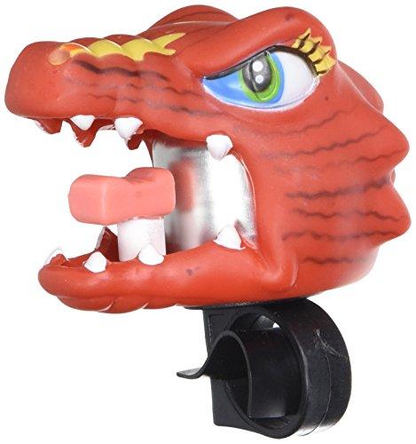 XLC Kinder Fahrradklingel Glocke Crazy Stuff Chinese Dragon, mehrfarbig, 5.5 x 5.5 x 4 cm