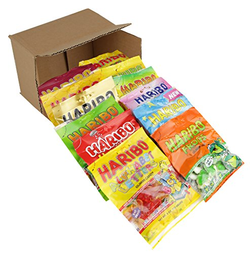 Nosh Pack Gummi Candy Assorted Variety (Pack of 12)