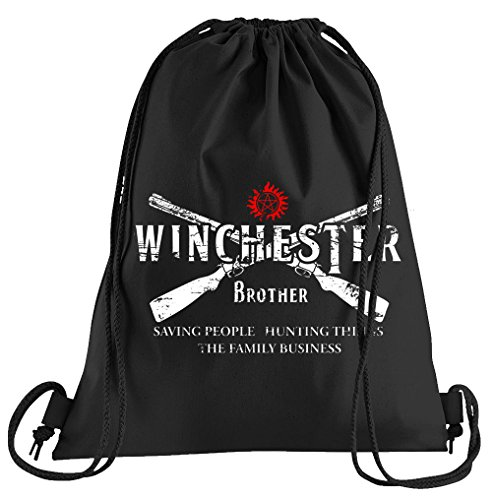 T-Shirt People Winchester Bros 2 Guns Sportbeutel – bedruckter Beutel – eine schöne Sport-Tasche Beutel mit Kordeln