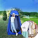 Vinteky Tente de Douche Pliage Pop Up Cabine de Changement Toilette Vêtement Portable Tente Privée Douche Camping Abri de Plein...