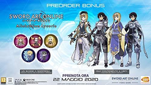 Sword Art Online Alizication Lycoris + badge (Eslusiva Amazon) - Day-One Limited - PlayStation 4