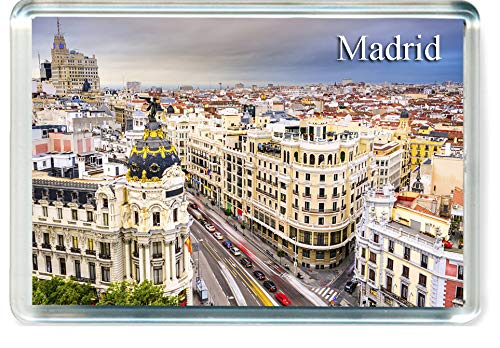 H243 Madrid Imán para Nevera Spain Travel Fridge Magnet
