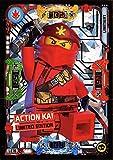 LEGO Ninjago Trading Card Game Serie 5: 50 tarjetas + tarjeta adicional LE16 Action Kai