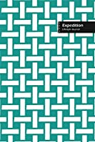 Expedition Lifestyle Journal, Wide Ruled Write-in Dotted Lines, (A5) 6 x 9 Inch, Notebook, 288 pages (Royal Blue)