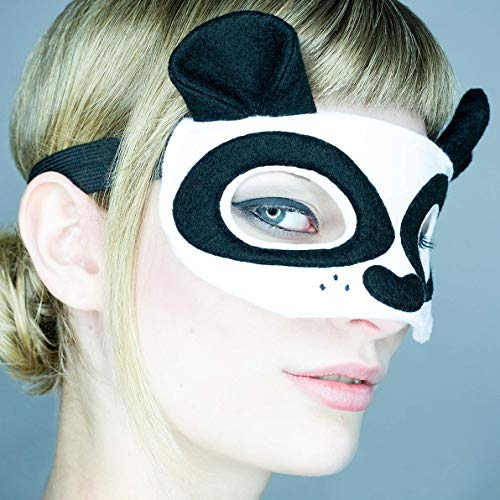 Maske *Panda Bear* - Maske Panda Bär | Karneval | Fasching | Panda Kostüm | Cosplay | Halloween