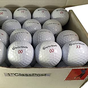 Superb Quality Pearl/A (nearly new) Golf Lake Balls - 24 TaylorMade Project A:Tudosobrediabetes