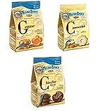 Testpaket Mulino Bianco Canestrini-Gemme-Chicche Kekse biskuits 3x200g neue Güte