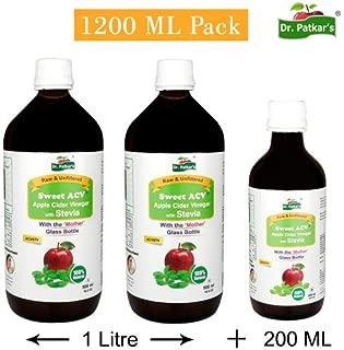 Sweet-Stevia Apple Cider Vinegar 1200 ml Pack (40.58 OZ)