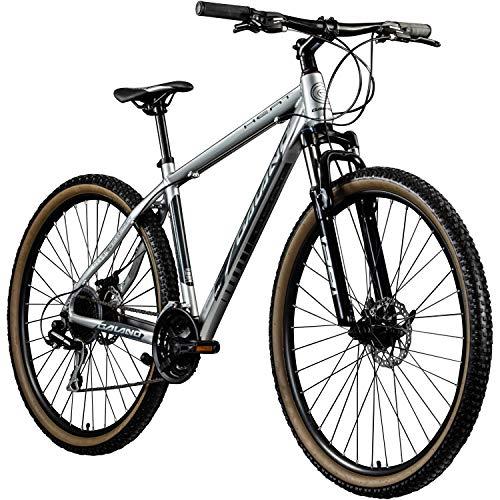 Galano MTB Hardtail 29 Zoll Fahrrad Heat Mountainbike 24 Gänge Mountain Bike (grau, 48 cm)