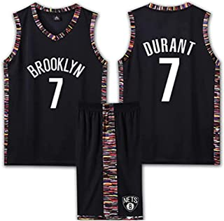 Brooklyn Nets 7# Kevin Durant Basketball Uniform, Breathable And Wearable Adult/Children's Basketball Uniforms, Very Suita...