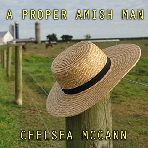 A Proper Amish Man audiobook cover art
