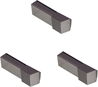 Uncoated Carbide THINBIT 3 Pack LGTF060D53004 0.060 Width 0.150 Depth 0.300 Major Diameter Face Grooving Insert for Non-Ferrous Alloys Aluminium and Plastic Sharp Corner