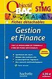 Objectif Bac - Fiches détachables - Gestion et finance - Terminale STMG by Philippe Louchet (2013-07-17)