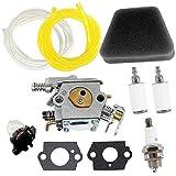 Kit de Carburador para Motosierra Poulan 1950 2050 2150 2375# Walbro WT 891 545 081 885