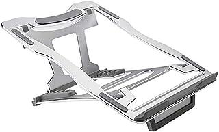 WANG Soporte para portátil Laptop Stand de aleación de Aluminio de Escritorio Aumentar sujeción del radiador Plegable portátil de pequeño tamaño Vertical Lazy Soporte (Color : C)