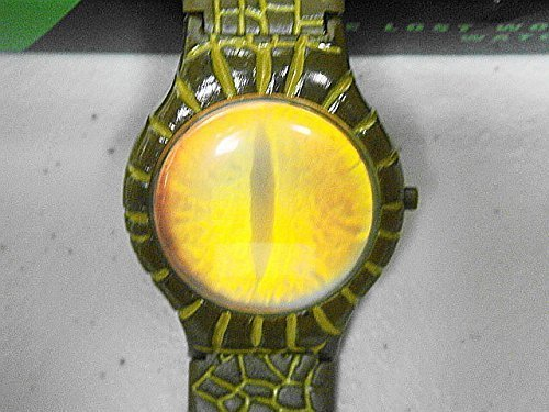 Paramount Studios/Burger King The Lost World Jurassic Park 1998 Dino Eye Watch with Illustrated Watch Band-New in Box